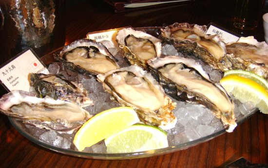Oysters From Nagasaki Ako And Hokkaido Picture Of