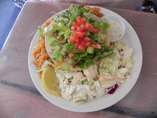 Paia Fish Market : Taco fish