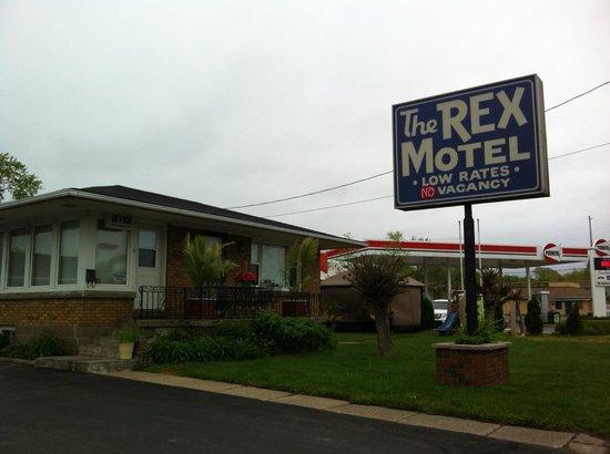 The Rex Motel : Außenansicht