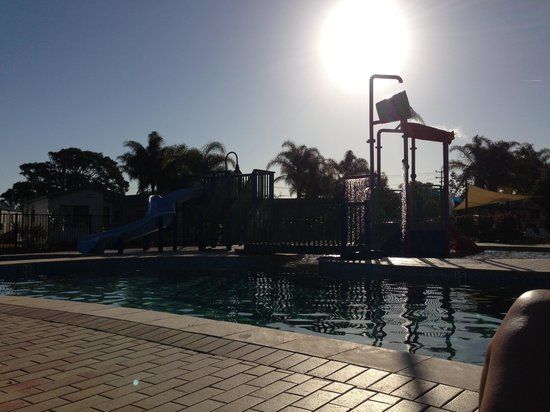 Discovery Parks - Harrington: A relaxing afternoon by the pool