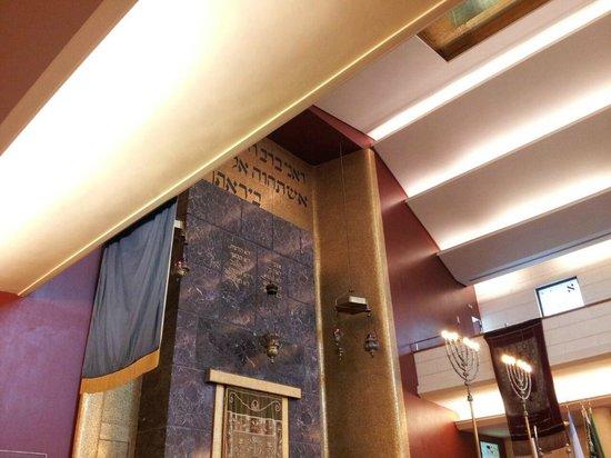 Il Tempio Israelitico di Milano: Interno Sinagoga Milano