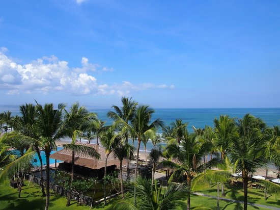The Legian Bali: nice view from the room
