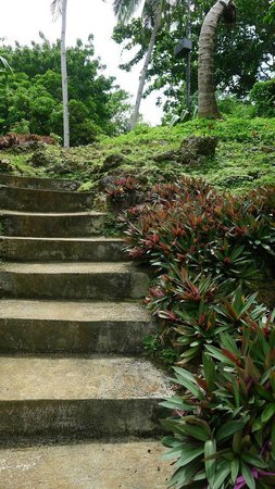 Boracay Ecovillage Resort and Convention Center: path to Punta Bunga