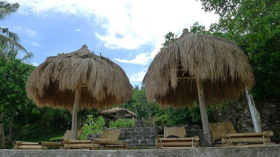 Boracay Ecovillage Resort and Convention Center: hotel guests' huts at Punta Bunga