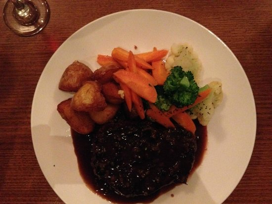 The Clubhouse Bar & Bistro: well presented meal