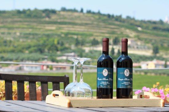 Villa Monteleone: Vår terass