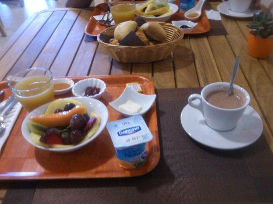 Tama Hôtel: petit déjeuner