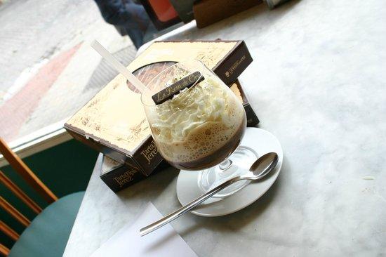 La Rosa de Oro : Café bombón