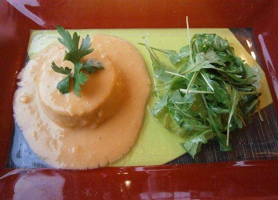 Hotel la Villa Marine : Soufflé de la mer sauce crevettes