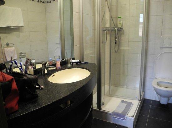 Hotel Krone: Duschbad