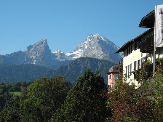 Hotel Krone: Blick auf die Berge