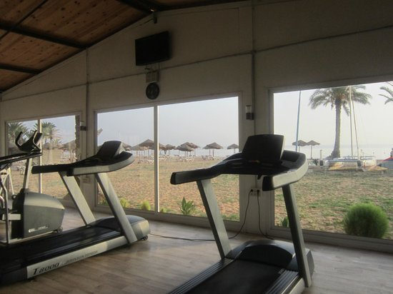 TUI SENSIMAR Scheherazade: The gym, and its great view
