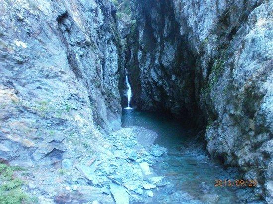 Les Gorges de la Diosaz : cascade