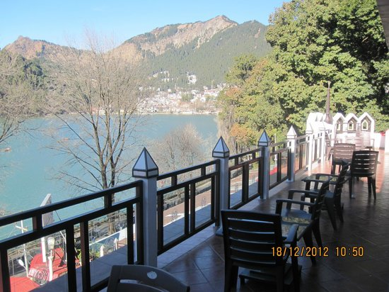 Alka The Lake Side Hotel Small Terrace To Have Tea Refreshments Etc