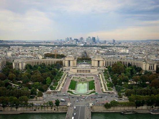 Fat Tire Tours Paris: Amazing view of Paris from the top