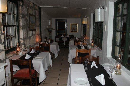 Blue Goose: Ein Teil des Restaurants