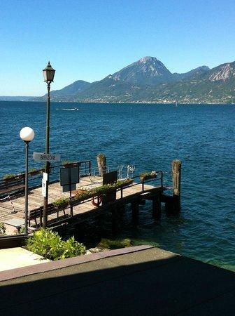 Hotel Brenzone: Aussicht von unserem Balkon