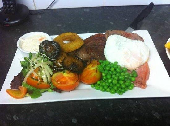 Horse and Jockey Restaurant: Sunday dinner £ 7.95