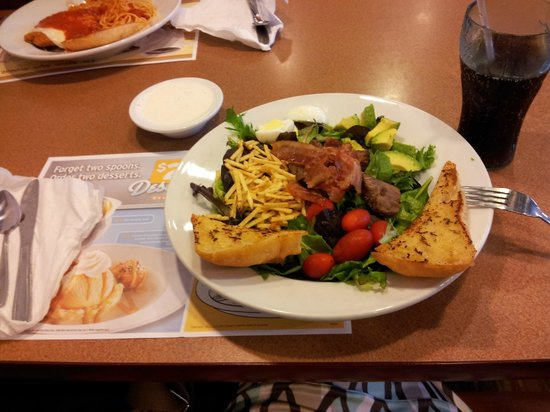 Salada do Denny's.