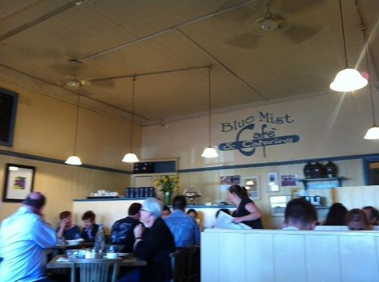 Blue Mist Cafe: quaint ambience