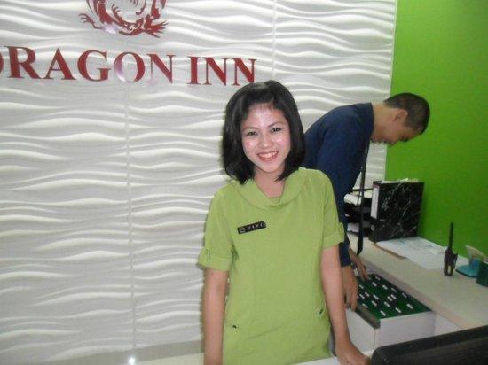 Dragon Inn Kemayoran : reception