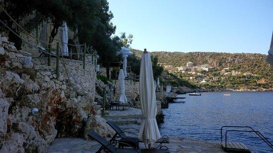 Hotel Villa Mahal: Bathing on the Sea Front
