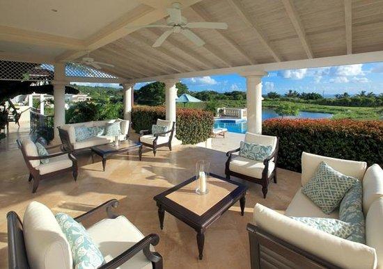Outside Villa area at Royal Westmoreland Barbados
