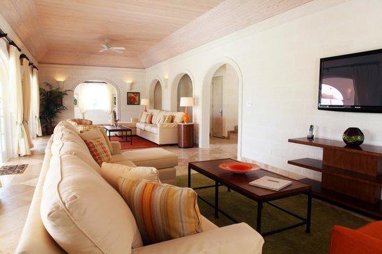 Luxury Living Room at Royal Westmoreland