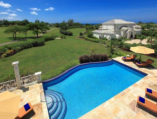 Luxury private pool at Royal Westmoreland Villa