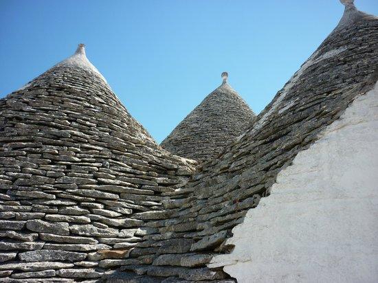 I Trulli di Alberobello - World Heritage Site: Closeup of the trulli