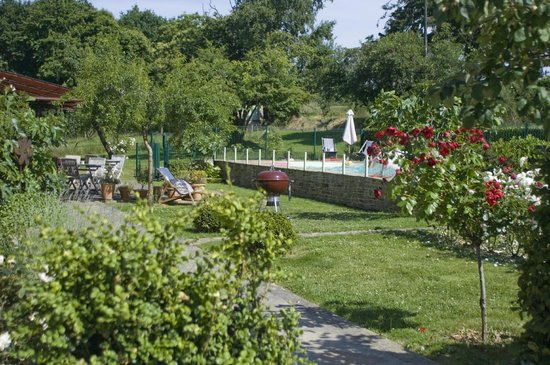 Tillac : Le jardin