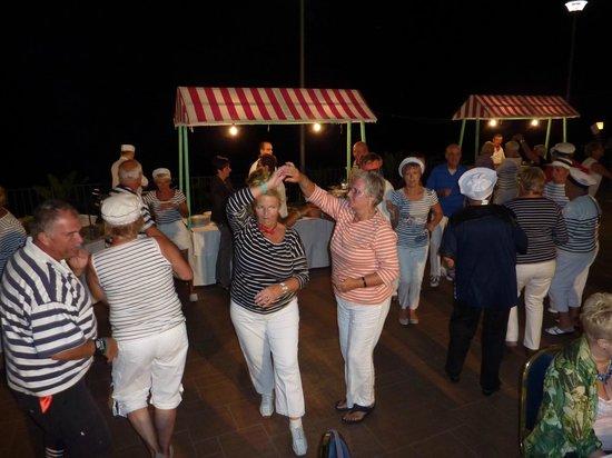 Hotel Santa Tecla Palace: soirée carnaval au Santa tecla Palace