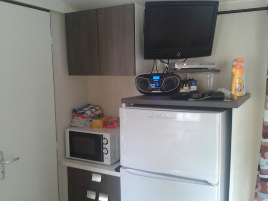 Var Mobil Home : Kühlschrank mit Gefrierfach