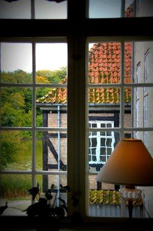 Skjoldenaesholm Hotel & Conference Center: Udsigt fra havesalonen