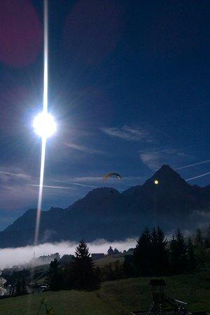 Hotel Klockerhof: Ausblick auf die Berge ringsum