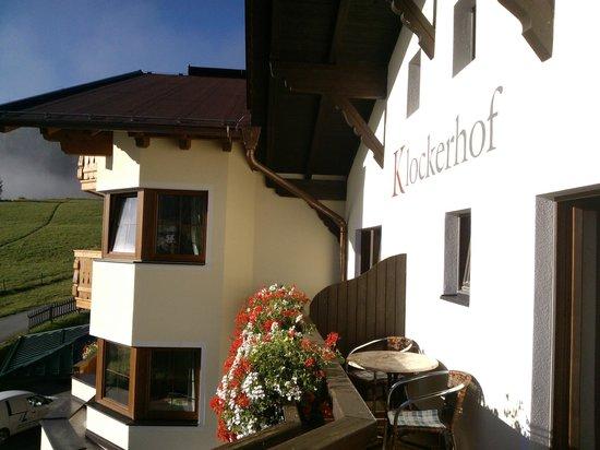Hotel Klockerhof: Balkon