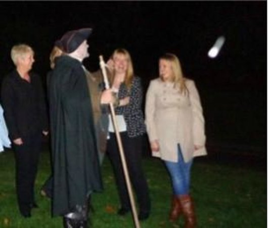 Stirling Ghost Walk: Orb in the sky?