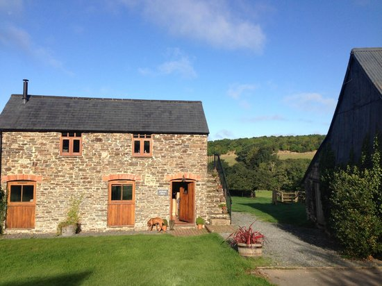 Devon Country Barns: Lili loved the barn as much as we did
