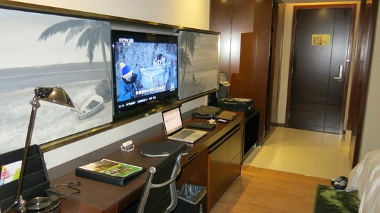 Bavaria City Hotel Beihai: Working Desk