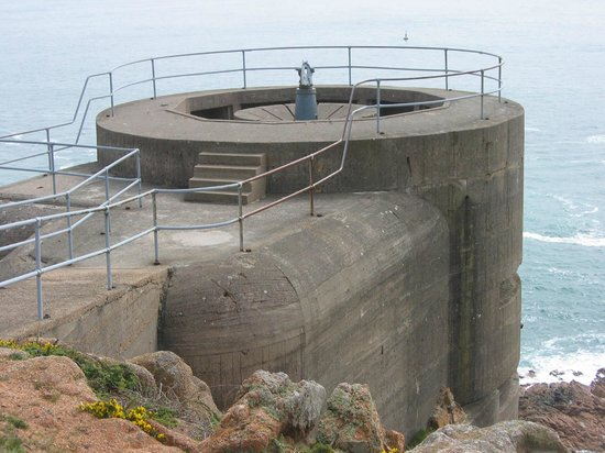 The Channel Islands Military Museum: Gun Position