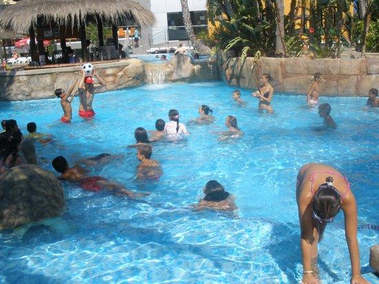La Marina Camping & Resort: Deporte en la piscina con los monitores