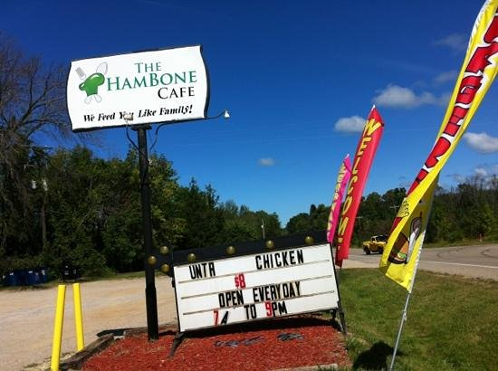 The Hambone Cafe: Located along Blue Star highway