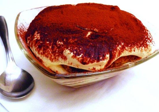 Pomodoro Pizzeria & Cafe : Home made Tirimisu