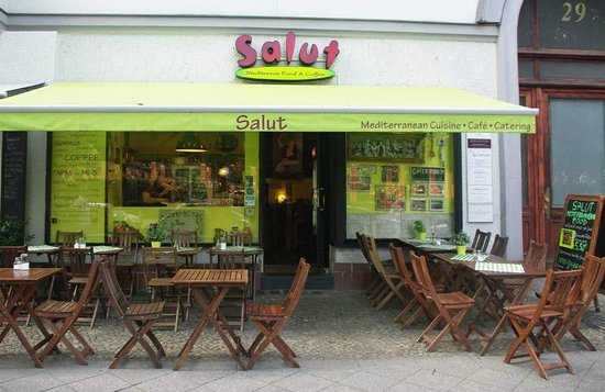 Salut Mediterranean Food: Salut outside terrace