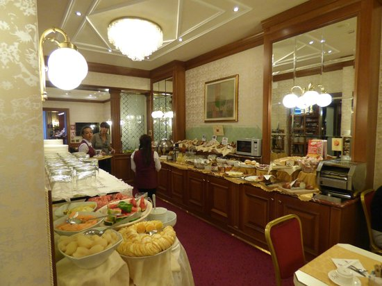 Breakfast Buffet at Hotel Berna, Milano