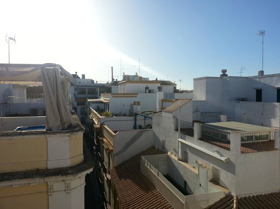 Espacio Azahar: Rooftop view
