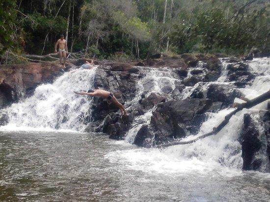 Praia do Baixio: Cachoeira dos Índios - Próx a Subaúma - uns 12 Km de Baixio