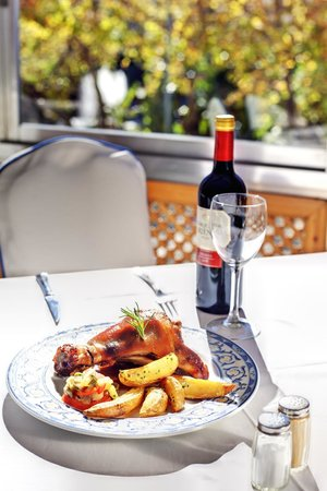 Restaurante Alameda: Muslitos de pollo estilo San Cristobal