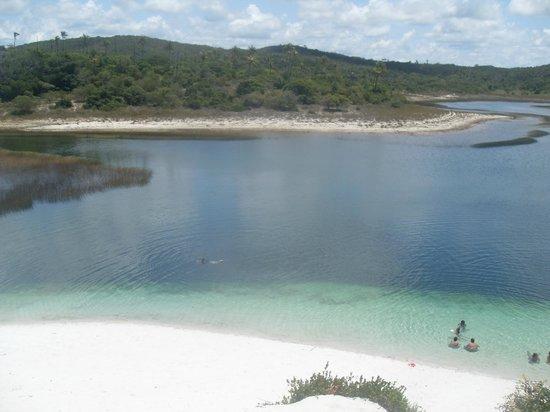 Praia do Baixio: Lagoa Azul - Baixio