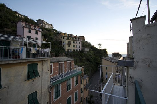 L'Ancora: View from rooftop terrace